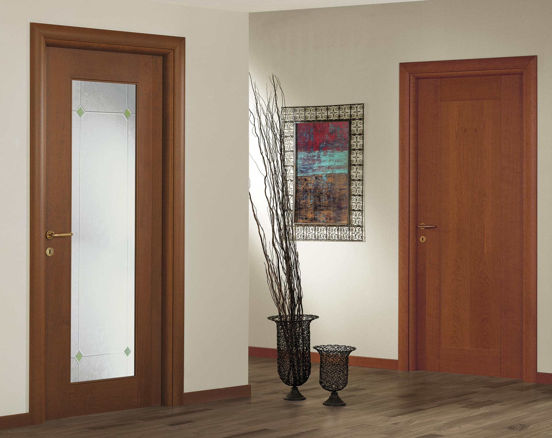 Classic With V55 Glass, Optional Round Doorjamb And Casing. Range; Door  Color; Frames; Design Solutions ...
